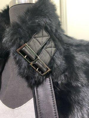 Knoles & Carter Fur vest black