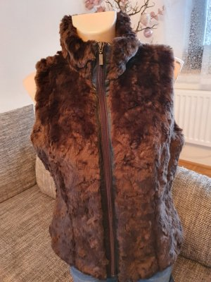 esprit collection Fake Fur Vest brown
