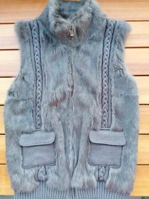 Oakwood Fur vest anthracite