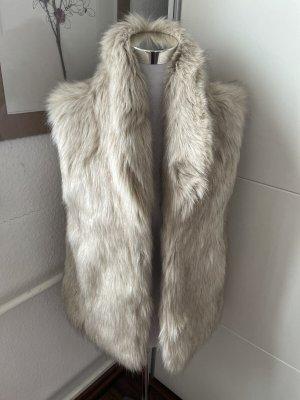 Denim & Supply Ralph Lauren Smanicato di pelliccia crema-beige chiaro