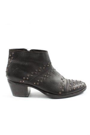 Felmini Reißverschluss-Stiefeletten schwarz Casual-Look
