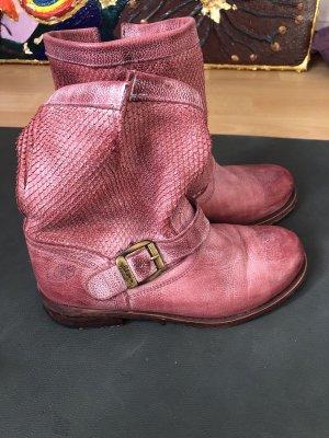 Felmini Stiefel Boots  Leder altrosa