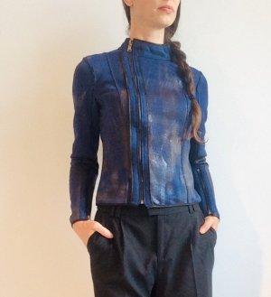 Reversible Jacket black-dark blue