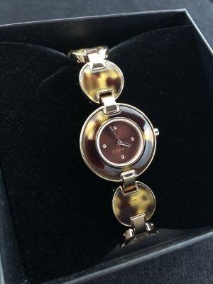 Esprit Montre avec bracelet métallique or rose-brun