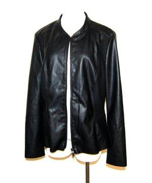 Bianca Biker Jacket black mixture fibre
