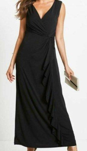 Abendkleid Maxi-jurk zwart