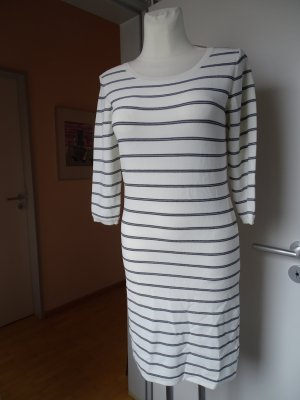(The Mercer) NY Vestido de tela de jersey blanco-negro Viscosa