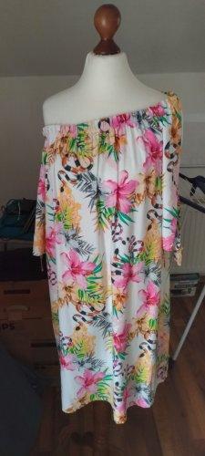 Feminines Kleid mit floralem Print von Selected Touch Gr. 38