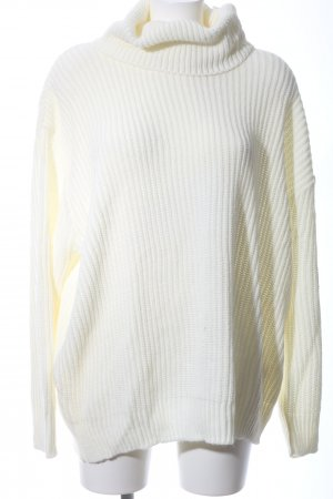 Femme Luxe Oversized Pullover wollweiß Casual-Look