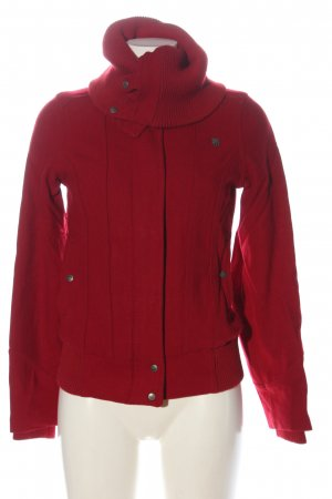 Fenchurch Giacca di lana rosso stile casual