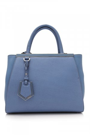Fendi 2Jours Leather Satchel