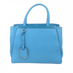 Fendi 2Jours Petite Leather Bag