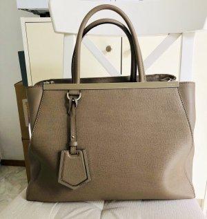FENDI 2Jours Vitello Handtasche, Shopper, wie neu