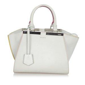 Fendi 3Jours Leather Handbag