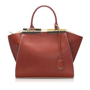 Fendi 3Jours Leather Satchel