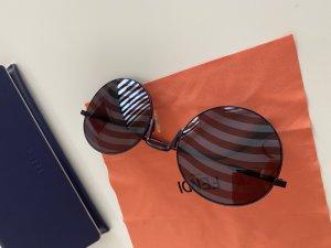 Fendi Gafas de sol ovaladas violeta amarronado
