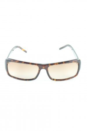 Fendi Brille schwarz-bronzefarben Business-Look