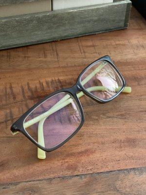 Fendi Glasses dark brown-pale green