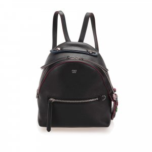 Fendi By The Way Leather Backpack