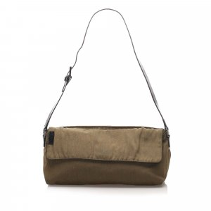 Fendi Canvas Baguette
