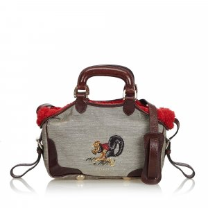 Fendi Canvas Handbag