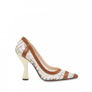 Fendi Colibri Monogram Pumps