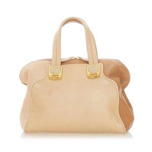 Fendi Colorblock Chameleon Leather Handbag