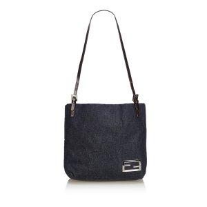 Fendi Denim Shoulder Bag