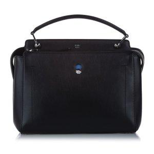 Fendi Satchel black leather