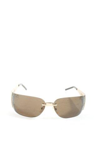 Fendi Angular Shaped Sunglasses brown casual look