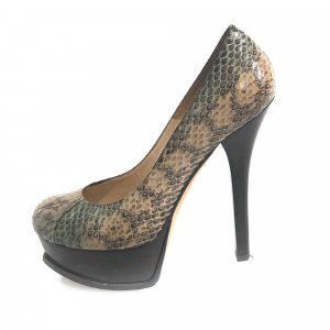 Fendi Elaphe Platform Pump