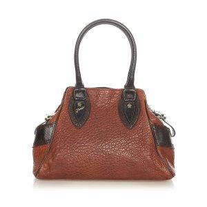 Fendi Etniko Leather Handbag