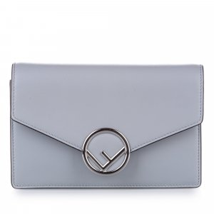 Fendi F is Fendi Leather Wallet on Chain
