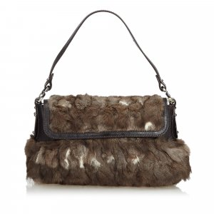 Fendi Fur Chef Baguette