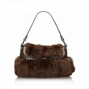 Fendi Fur Chef Shoulder Bag