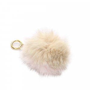 Fendi Fur Pom-Pom Key Chain