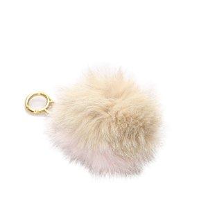 Fendi Fur Pom-Pom Key Chain