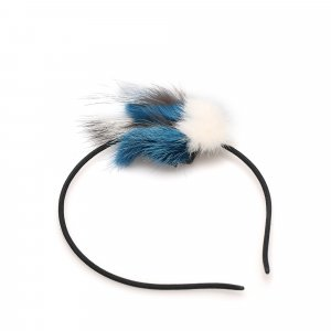 Fendi Fur-Trimmed Headband