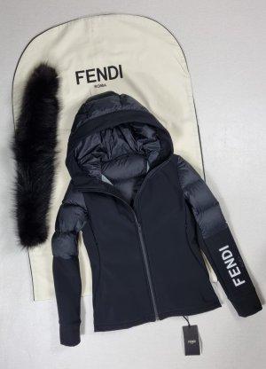 Fendi Bomber Jacket black pelt