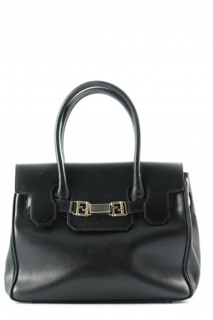 Fendi Handtasche schwarz Business-Look
