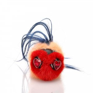 Fendi Heart Bug Bag Charm