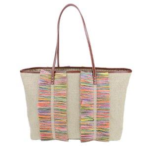 Fendi Hemp Tote Bag