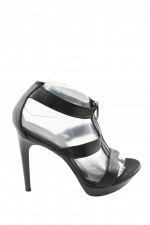 Fendi High Heel Sandaletten schwarz Casual-Look