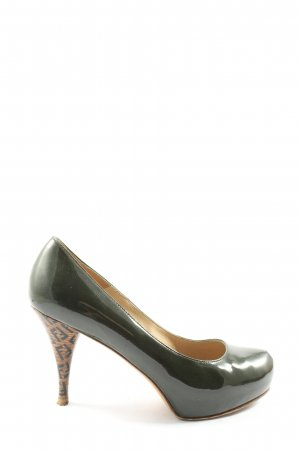 Fendi High Heels braun Casual-Look