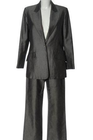 Fendi Garnitur damski jasnoszary Siateczkowy wzór W stylu biznesowym