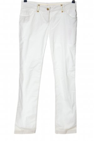 Fendi Low-Rise Trousers white casual look