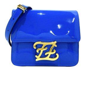 Fendi Karligraphy Patent Leather Crossbody Bag