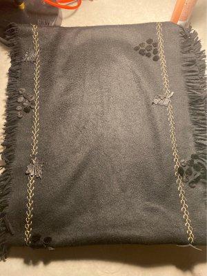 Fendi Sciarpa in cashmere nero