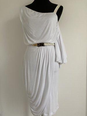 Fendi Sukienka na jedno ramię biały