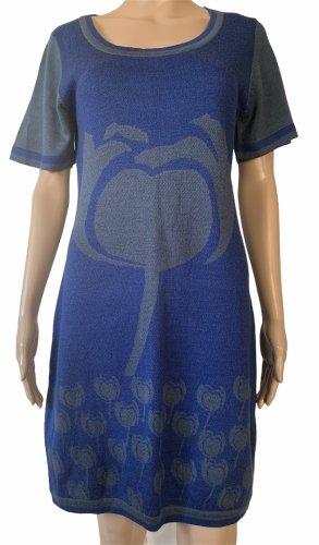Fendi Woolen Dress steel blue-blue wool